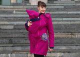 Detská kapucňa so šálom - Mandala Bloom