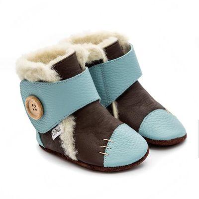 Zimní botičky Liliputi - Earth